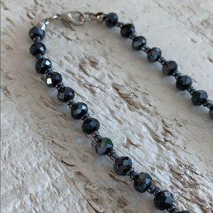 Jewelry - NWOT Multi Layered Grey Bead Necklace
